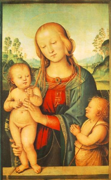 Madonna with Child and Little St John 1505 10
